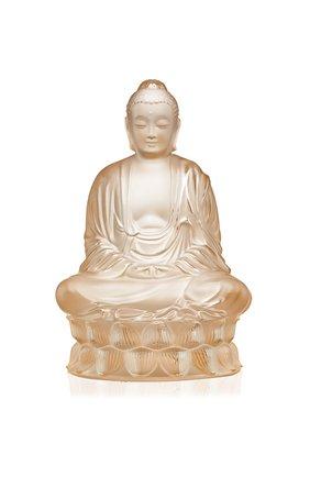 Мужского скульптура buddha small LALIQUE бесцветного цвета, арт. 10572100 | Фото 1