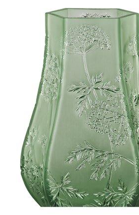 Мужская ваза ombelles LALIQUE зеленого цвета, арт. 10550600 | Фото 2