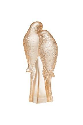 Статуэтка 2 Parakeets Lalique #color# | Фото №1