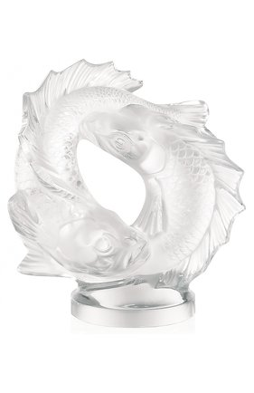 Скульптура Double Fish medium Lalique #color# | Фото №1