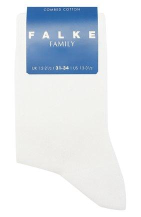 Детские носки из хлопка FALKE белого цвета, арт. 10645 | Фото 1