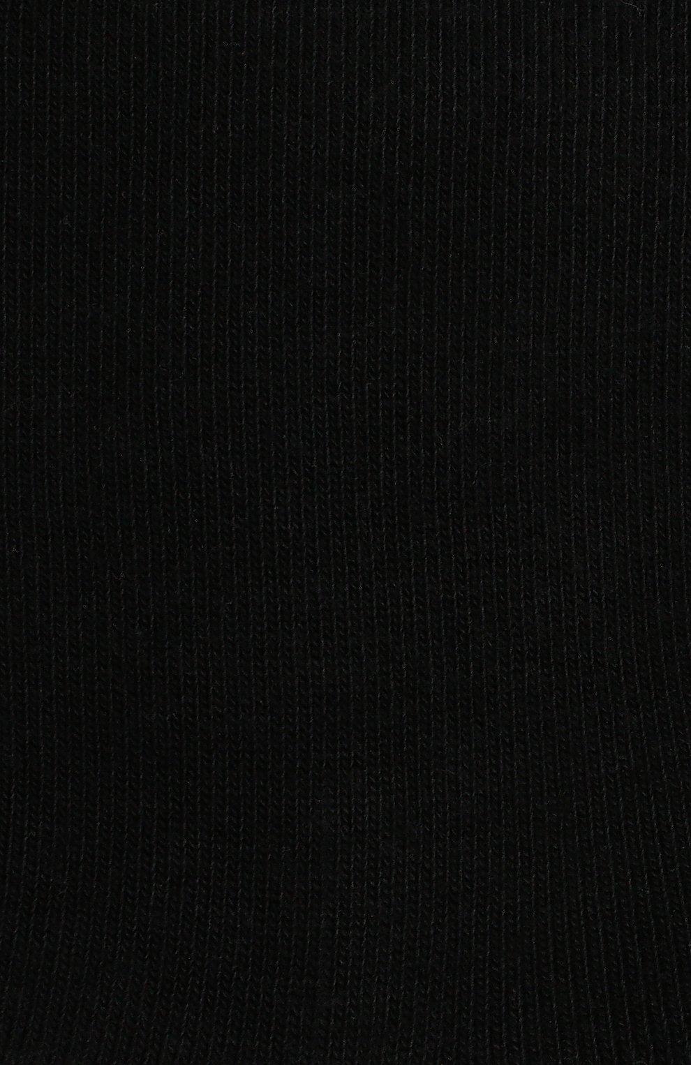 Детские носки из хлопка FALKE черного цвета, арт. 10645 | Фото 2
