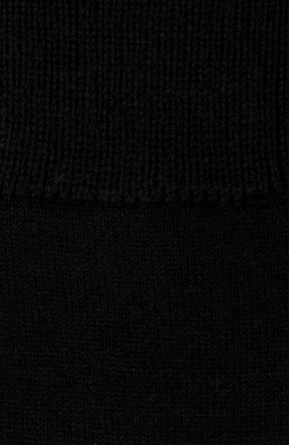 Детские утепленные носки comfort wool Falke черного цвета | Фото №2