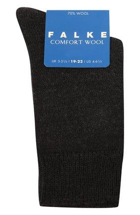 Детские утепленные носки comfort wool FALKE темно-серого цвета, арт. 10488 | Фото 1