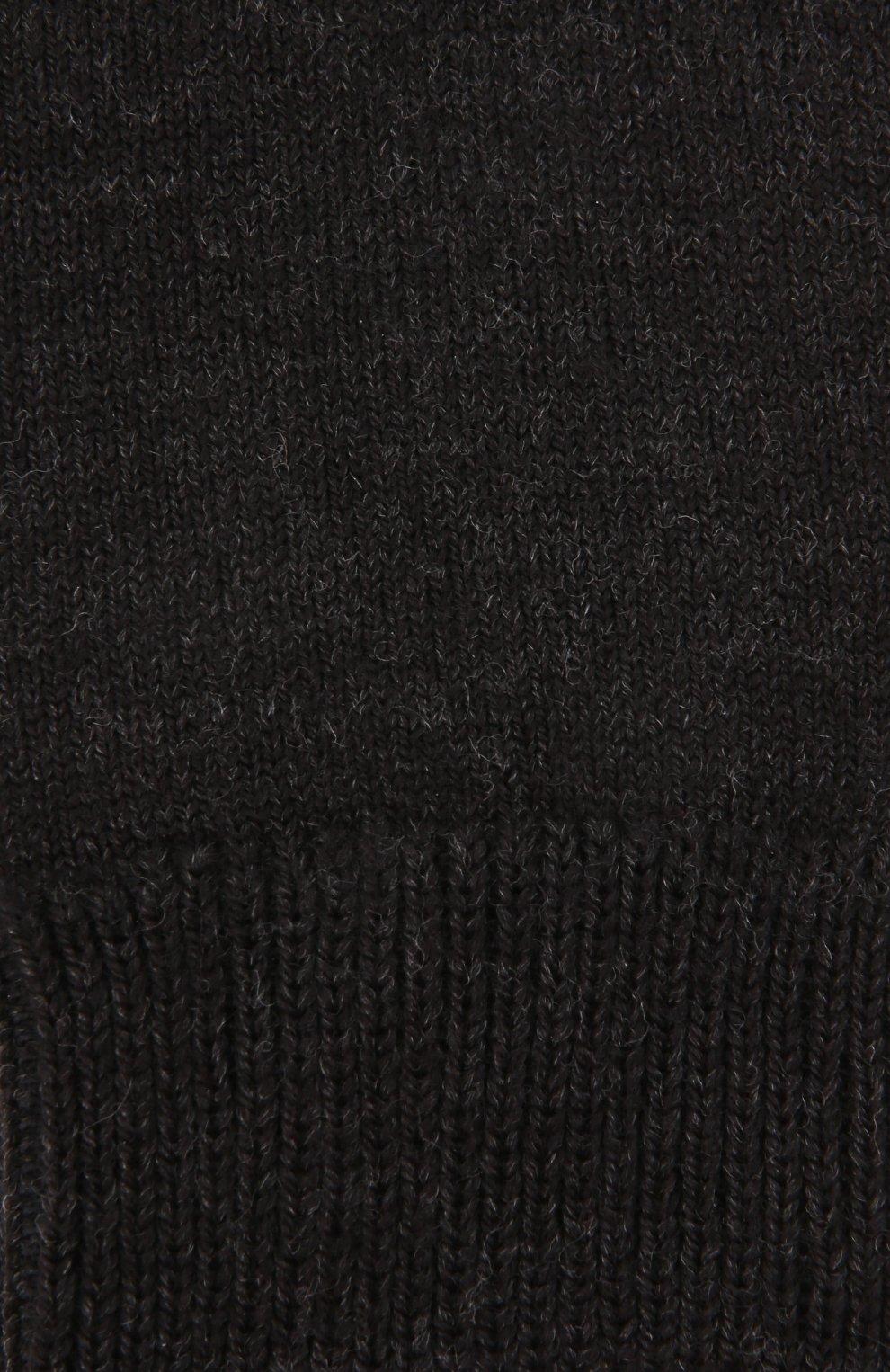 Детские утепленные носки comfort wool FALKE темно-серого цвета, арт. 10488 | Фото 2