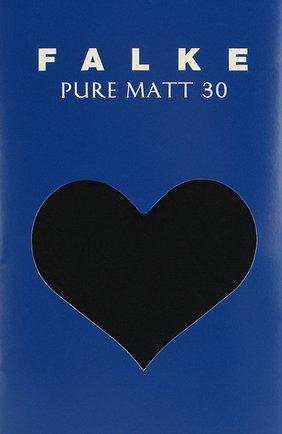 Детские колготки pure matt 30 FALKE синего цвета, арт. 13630 | Фото 2