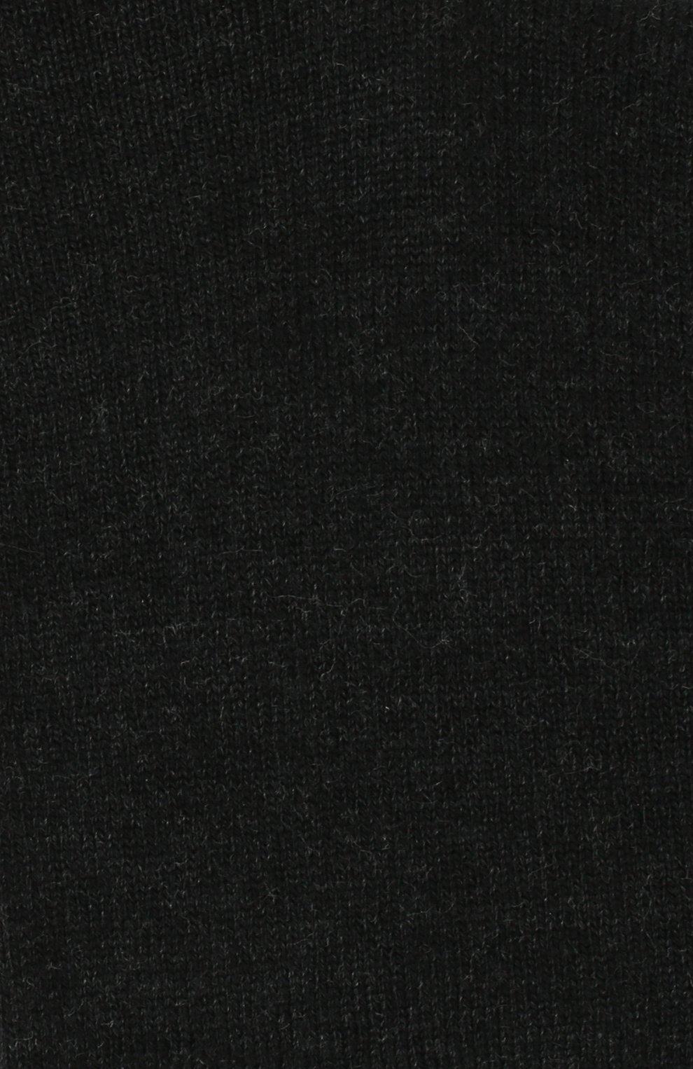 Детские носки из хлопка Falke темно-серого цвета | Фото №2