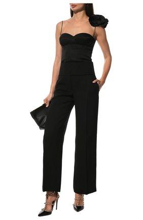 Женская кожаные туфли valentino garavani rockstud VALENTINO черного цвета, арт. ZW2S0393/VNW | Фото 2