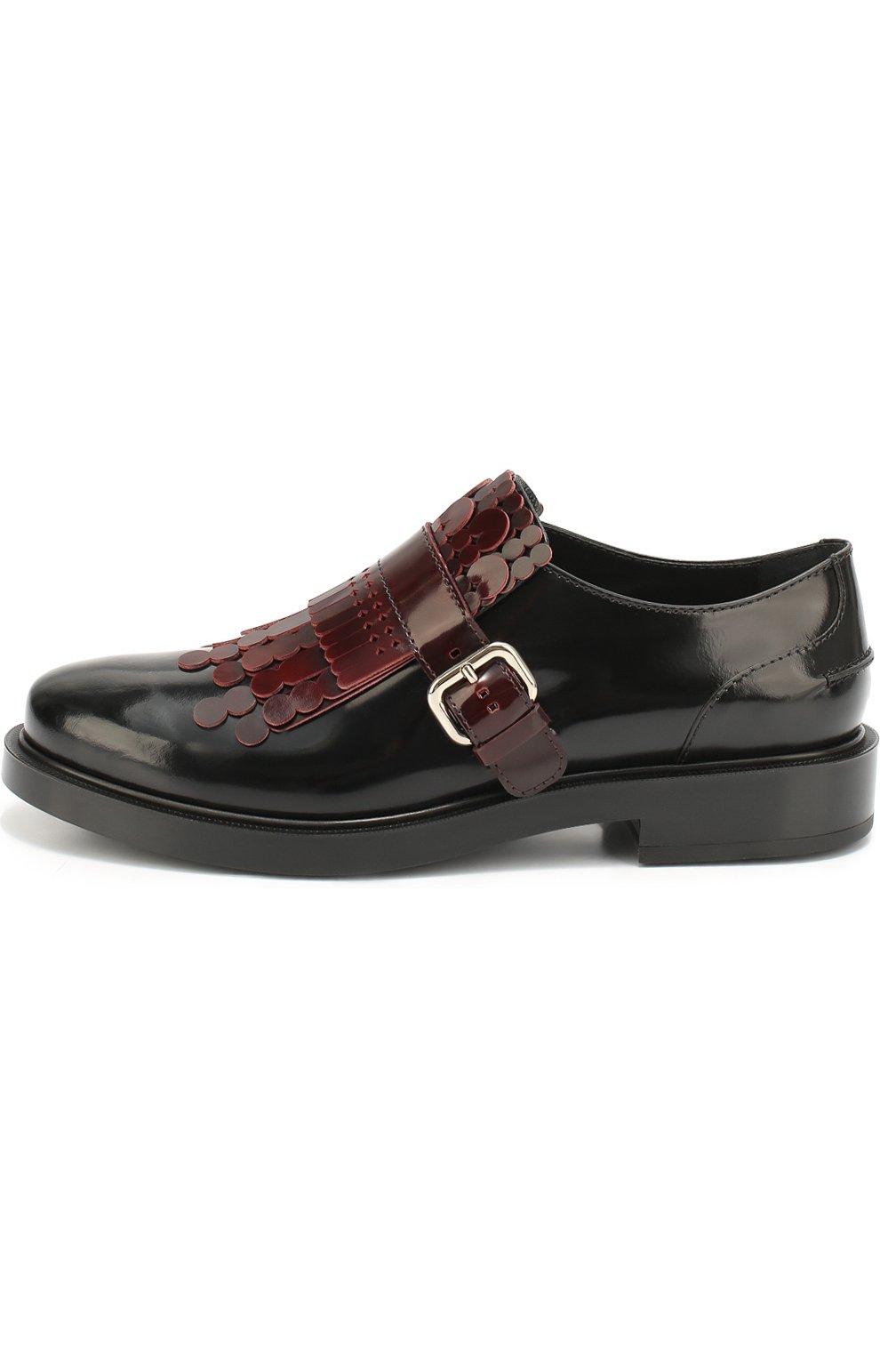 Лаковые ботинки с декором   Фото №1
