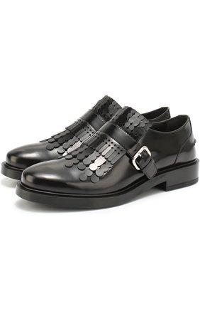 Лаковые ботинки с декором   Фото №2