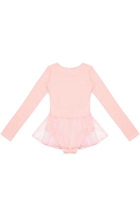 Детская боди с прозрачной юбкой DEHA розового цвета, арт. T07102   Фото 2