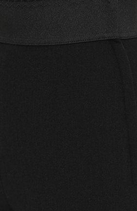 Укороченные леггинсы с декоративными пуговицами Dolce & Gabbana черные | Фото №5