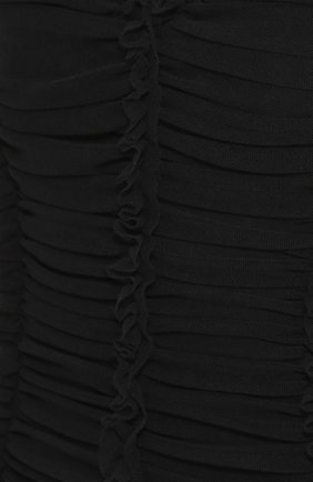 Драпированное платье-футляр с V-образным вырезом | Фото №5