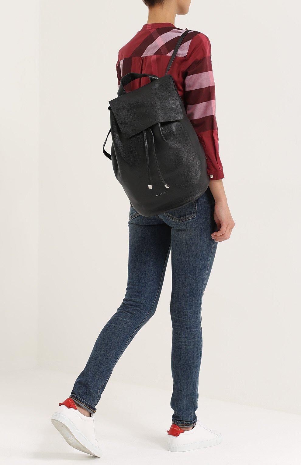 Кожаный рюкзак Mountain | Фото №2