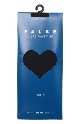 Детские колготки pure matt 80 FALKE синего цвета, арт. 13637 | Фото 1