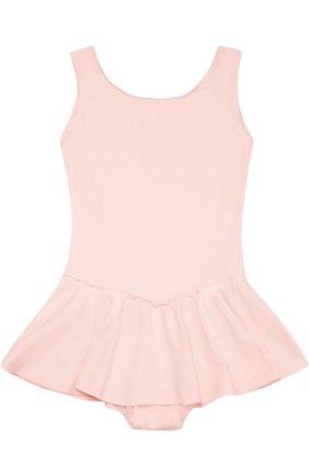 Детская боди без рукавов с мини-юбкой DEHA розового цвета, арт. T07113   Фото 2