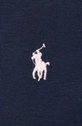 Хлопковый лонгслив с логотипом бренда | Фото №2