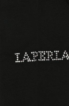 Детские колготки со стразами LA PERLA черного цвета, арт. 48828/1-3 | Фото 2