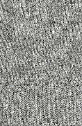 Детские гольфы из хлопка FALKE серого цвета, арт. 11645 | Фото 2