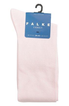Детские гольфы из хлопка FALKE розового цвета, арт. 11645 | Фото 1