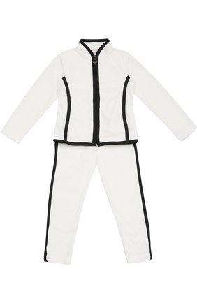 Спортивный костюм с контрастной окантовкой | Фото №1