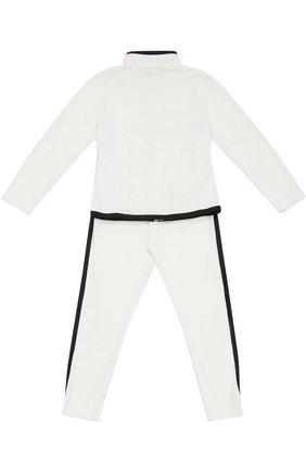 Спортивный костюм с контрастной окантовкой | Фото №2