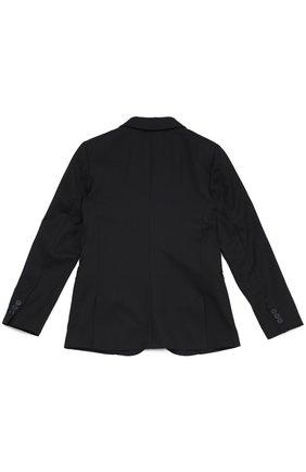 Шерстяной однобортный пиджак   Фото №2