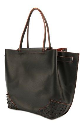 Сумка-шоппер Wave medium Tod's черная цвета | Фото №3