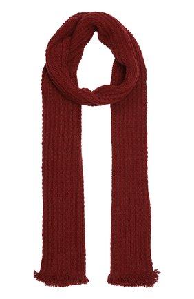 Кашемировый шарф фактурной вязки   Фото №1