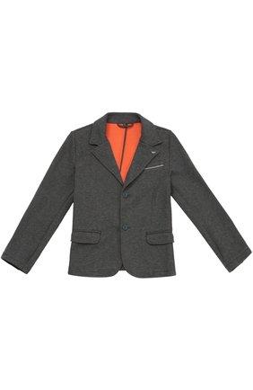 Однобортный пиджак из эластичного хлопка | Фото №1