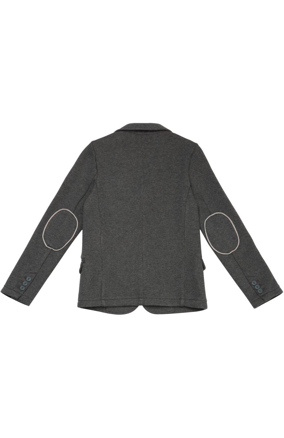 Однобортный пиджак из эластичного хлопка | Фото №2