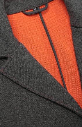 Однобортный пиджак из эластичного хлопка | Фото №3
