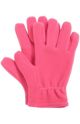 Флисовые перчатки с логотипом бренда | Фото №1