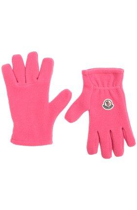 Флисовые перчатки с логотипом бренда | Фото №2