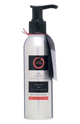 Гель для укладки волос с маслом авокадо ALDO COPPOLA бесцветного цвета, арт. C00238 | Фото 1 (Статус проверки: Проверена категория)