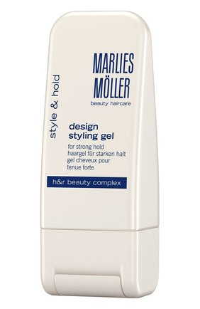 Гель для укладки сильной фиксации  Marlies Moller   Фото №1