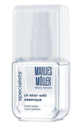 Эликсир для волос на основе масла горной камелии Marlies Moller   Фото №1