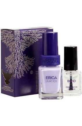 Набор: Лак для ногтей Erica + Bond-подготовка Christina Fitzgerald | Фото №1