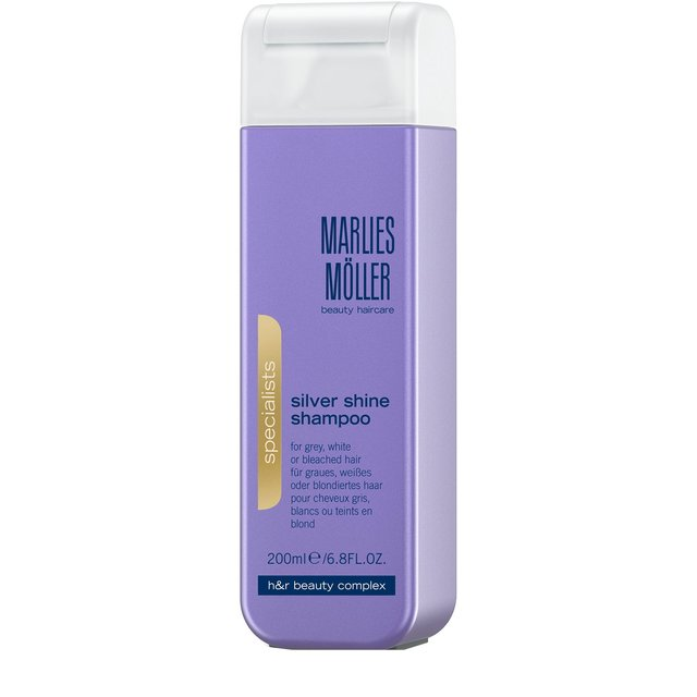 Шампунь для блондинок против желтизны волос  Marlies Moller.