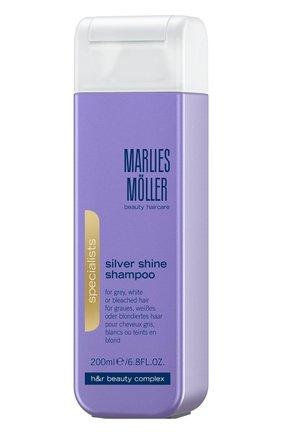 Шампунь для блондинок против желтизны волос  Marlies Moller   Фото №1