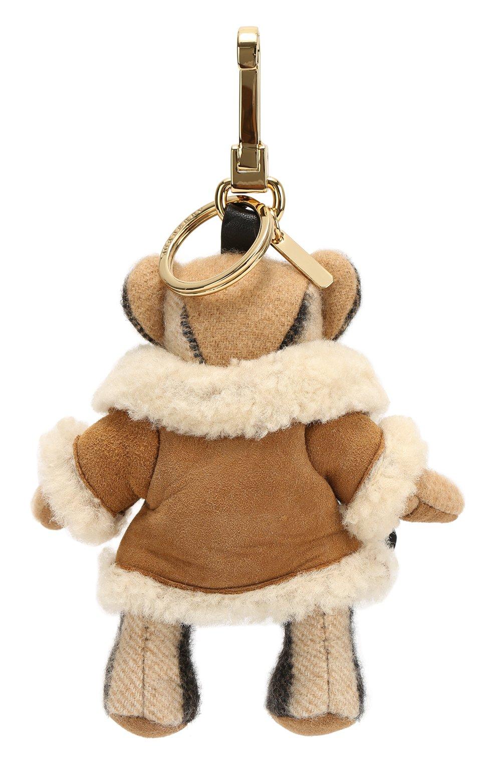 Брелок Thomas Bear в меховом пальто | Фото №2