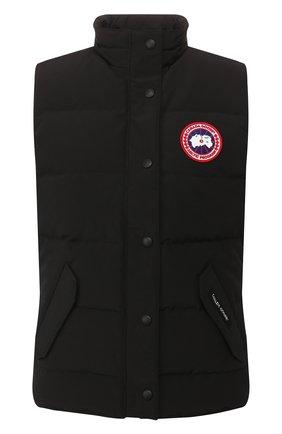 Женский пуховый жилет freestyle CANADA GOOSE черного цвета, арт. 2832L | Фото 1