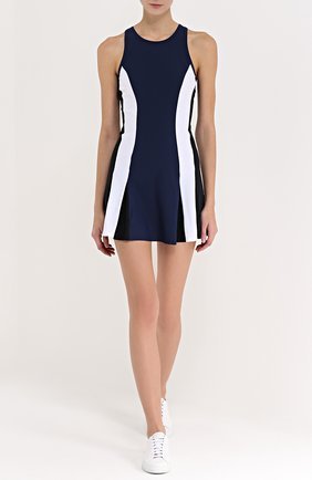 Спортивное мини-платье с контрастными вставками B3.0 разноцветного цвета   Фото №1