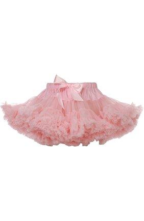 Многоярусная пышная мини-юбка | Фото №1