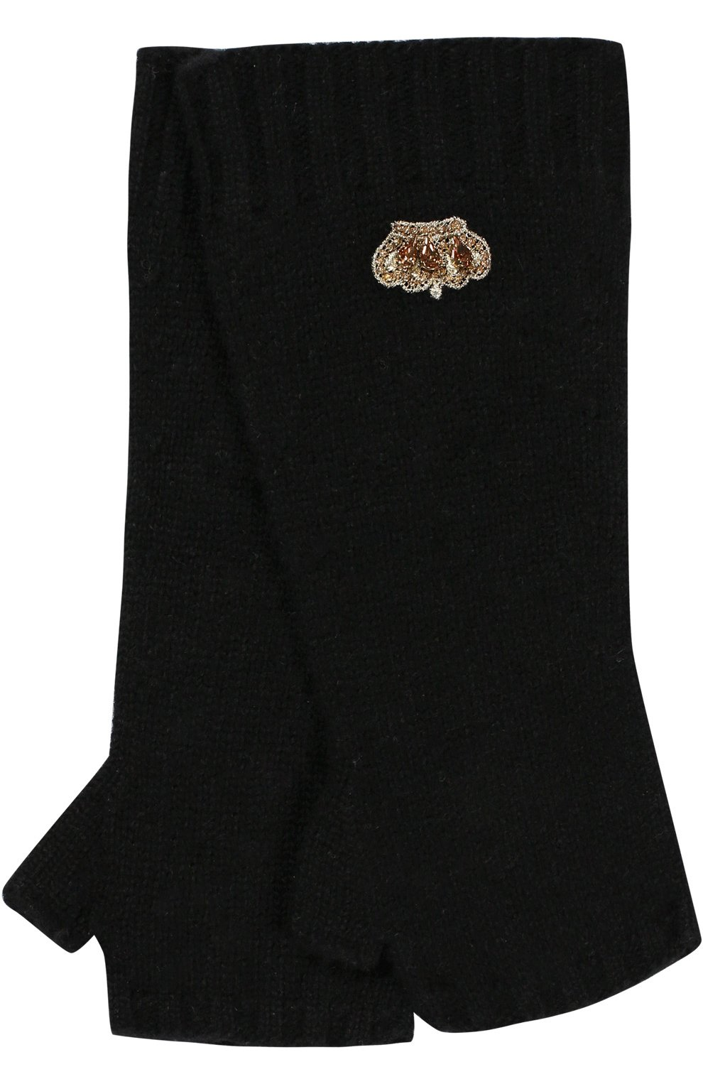 Перчатки из шерсти и кашемира | Фото №2