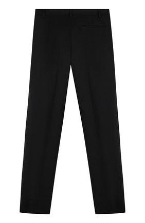 Детские шерстяные брюки прямого кроя DAL LAGO черного цвета, арт. N202/1011/XS-L | Фото 2