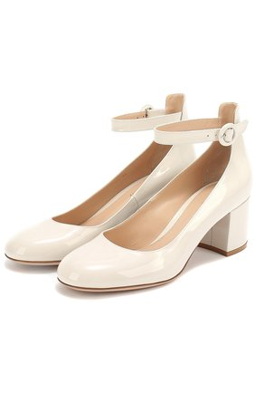 Лаковые туфли Greta с ремешком на щиколотке | Фото №1
