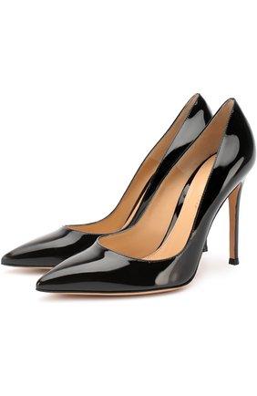 Лаковые туфли Gianvito 105 на шпильке