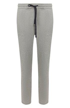 Мужские хлопковые брюки JAMES PERSE серого цвета, арт. MXI1161 | Фото 1