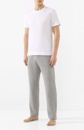 Мужские хлопковые брюки JAMES PERSE серого цвета, арт. MXI1161 | Фото 2